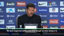 Simeone hails improved Atletico performance in win over Espanyol