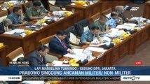 Rapat Perdana Menhan dan Komisi I DPR RI