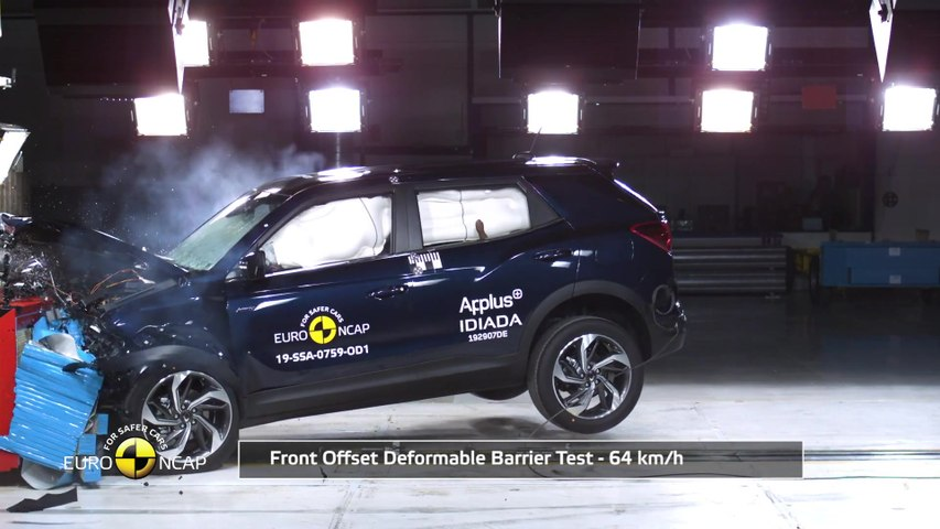 The new SsangYong Korando - 5 Stars from EuroNCAP