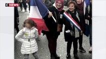 Marche contre l'islamophobie : la photo d'une enfant portant une étoile jaune suscite l'indignation