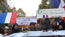 """مظاهرة وسط باريس تحت شعار """"كفى إسلاموفوبيا"""""""