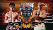 Mas Fight Cambodia - Buakaw Banchamek (Thai) vs. Chris Ngimbi (Dutch)   King of Boxing