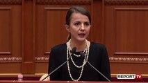Report TV - Rudina Hajdari: Nuk duhet cenuar integriteti për procesin e ngritjes së 'Kushtetueses'