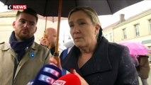 Polémiques suite à la marche contre l'islamophobie : la réaction de Marine Le Pen