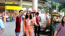 Spotted: Parineeti Chopra returns to Mumbai after attending Ficci Festival in Goa