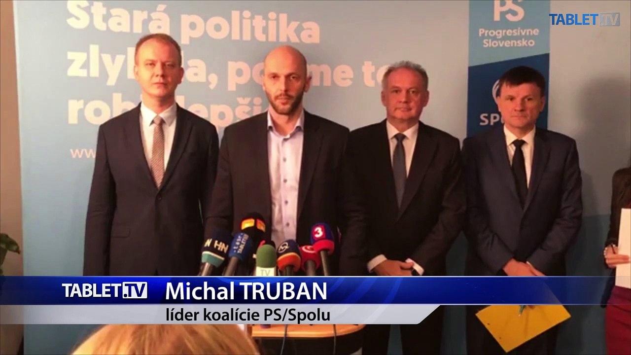 ZÁZNAM: Brífing Za ľudí, PS-Spolu a KDH o neútočení