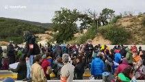 Catalan separatists blockade major French-Spanish road link