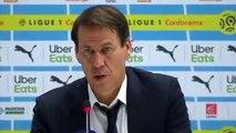 Football - Ligue 1 - Rudi Garcia après la défaite de l'OL contre l'OM