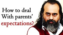 How to deal with parents' expectations? || Acharya Prashant, with students(2014)