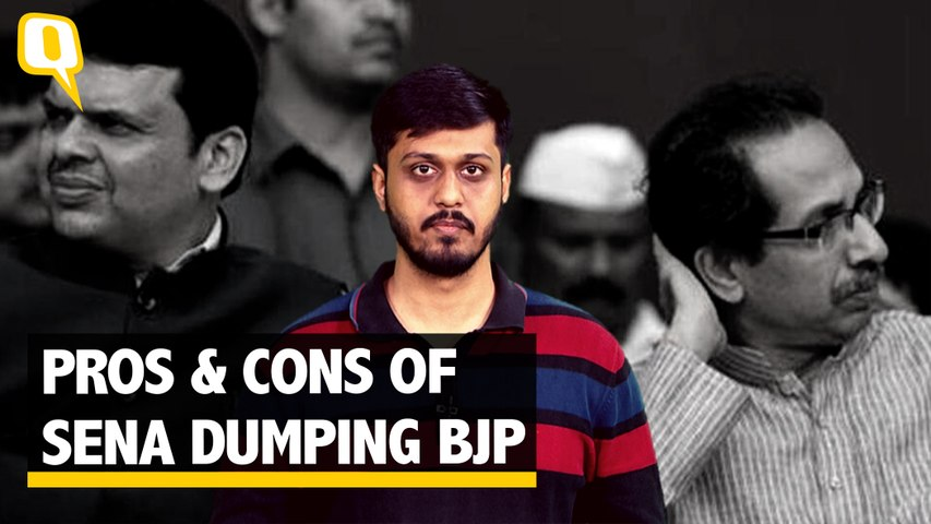 Pros & Cons of Sena Dumping BJP: Power at Cost of Eroding Votebank?