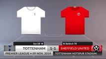 Match Review: Tottenham vs Sheffield United on 09/11/2019