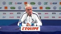 Deschamps sur Benzema «Zidane est dans son rôle» - Foot - Bleus