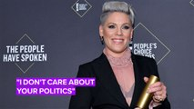 P!nk's inspiring People's Choice speech will give you chills