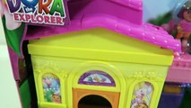 Dora the Explorers House Playset with Swiper and Shopkins Desserts-