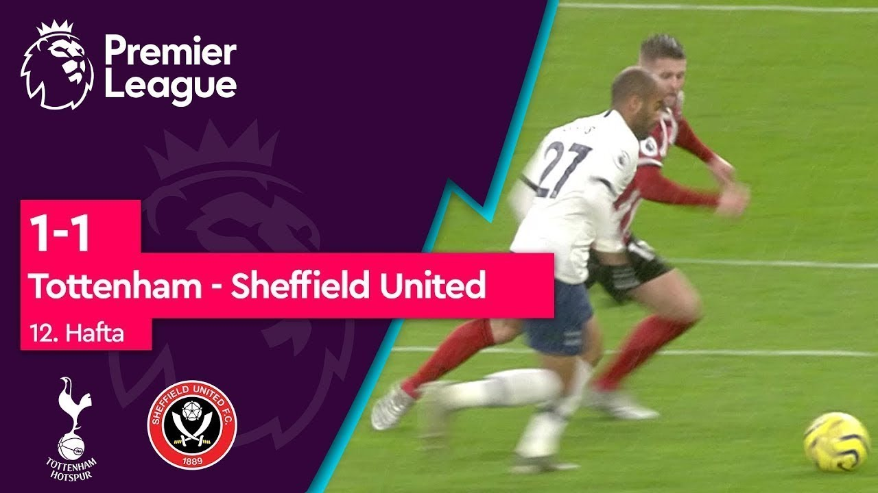 Tottenham - Sheffield United (1-1) - Maç Özeti - Premier League 2019/20