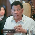 Duterte not going on leave after all – Panelo