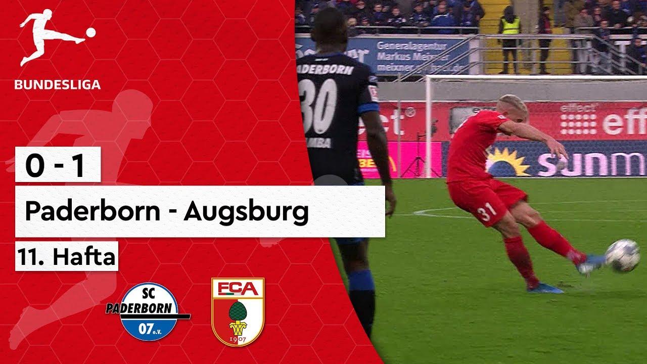 Paderborn - Augsburg (0-1) - Maç Özeti - Bundesliga 2019/20