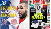 Joe Gomez a été touché au visage par Raheem Sterling, l'Espagne milite pour un retour de Karim Benzema en équipe de France