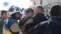 Al menos tres muertos en un ataque aéreo en el bastión rebelde en Siria