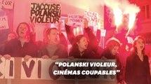 """Une avant-première de """"J'accuse"""" de Polanski annulée à Paris sous la pression de manifestantes"""