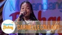Carmelle Collado sings Bituing Walang Ningning | Magandang Buhay