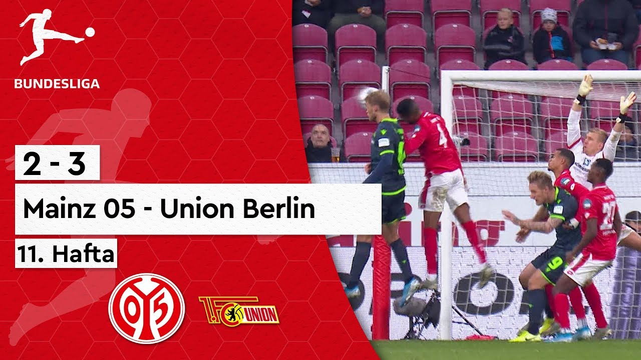 Mainz 05 - Union Berlin (2-3) - Maç Özeti - Bundesliga 2019/20