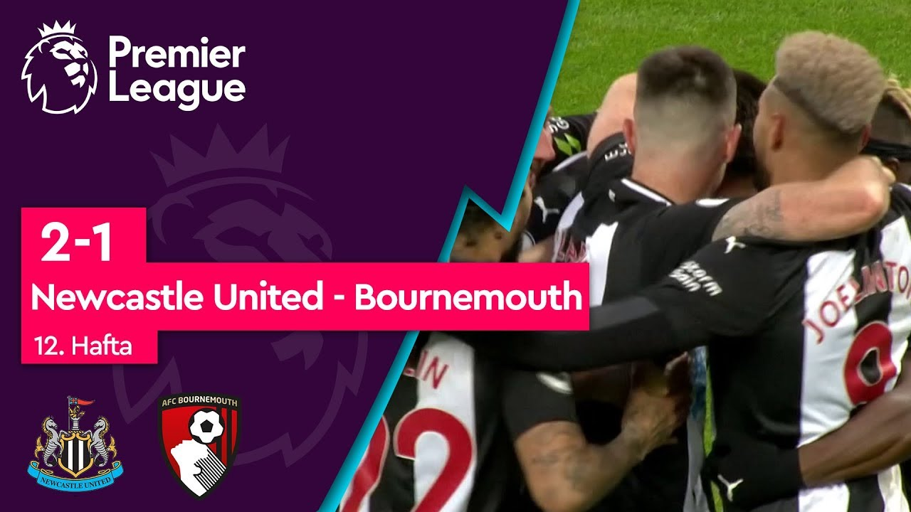 Newcastle United - Bournemouth (2 -1) - Maç Özeti - Premier League 2019/20