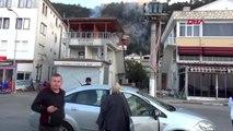 Bartın'da orman yangını, 7 ev boşaltıldı