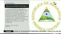 teleSUR Noticias: Se consuma golpe de Estado en Bolivia