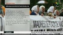 Abuelas y Madres de Plaza de Mayo repudian el golpe en Bolivia