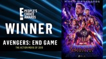 Marvel et Stranger Things raflent gros aux People's Choice Awards