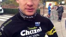 cyclo-cross : les impressions de Yan Gras qui s'est imposé à Saint-Etienne-lès-Remiremont