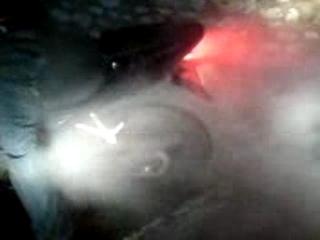 burn avec ma hyosung comet 125 dédicace à feucherolle