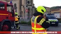 """Séisme dans le Sud de la France : """"J'ai cru que la maison de mon voisin s'effondrait"""""""