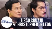 Tirso and Christopher reveal the reason why their movie with Nora Aunor got postponed | TWBA
