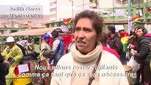 Bolivie: des manifestants maintiennent des barricades à La Paz