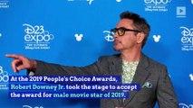 Robert Downey Jr. Dedicates People's Choice Award to Stan Lee