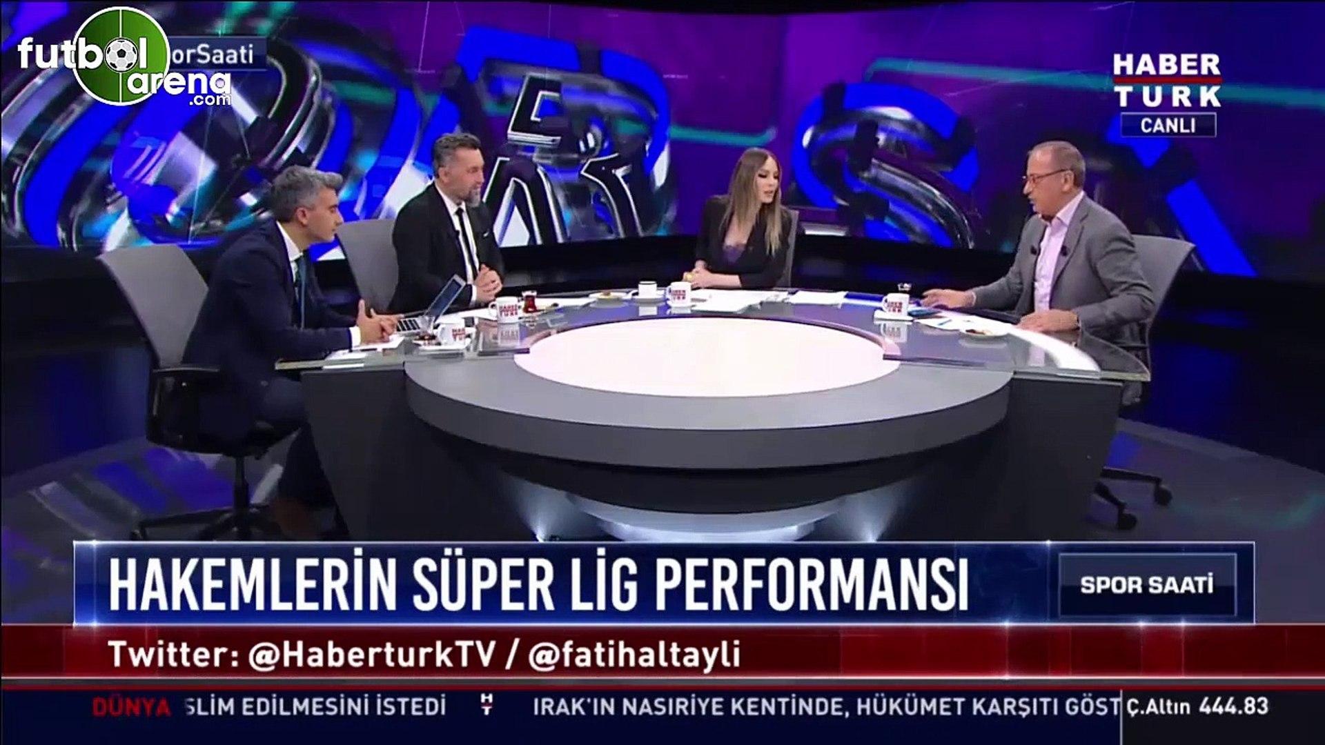 Fatih Altaylı ve Hande Sarıoğlu arasında canlı yayında gerginlik