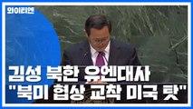 """김성 북한대사 """"북미 협상 교착, 미국 도발 탓"""" / YTN"""
