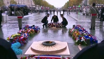 Commemorations 11 November 1918 Armistice, ending World War I