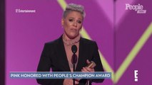 People's Champion! Pink Calls Kindness an 'Act of Rebellion' in People's Choice Awards Speech