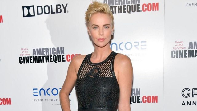 Charlize Theron Ditched Her Bowl Cut for Another Short Hairstyle