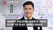 Henry Golding And His James Bond Thoughts