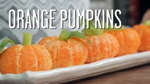 How To Make Orange Pumpkins