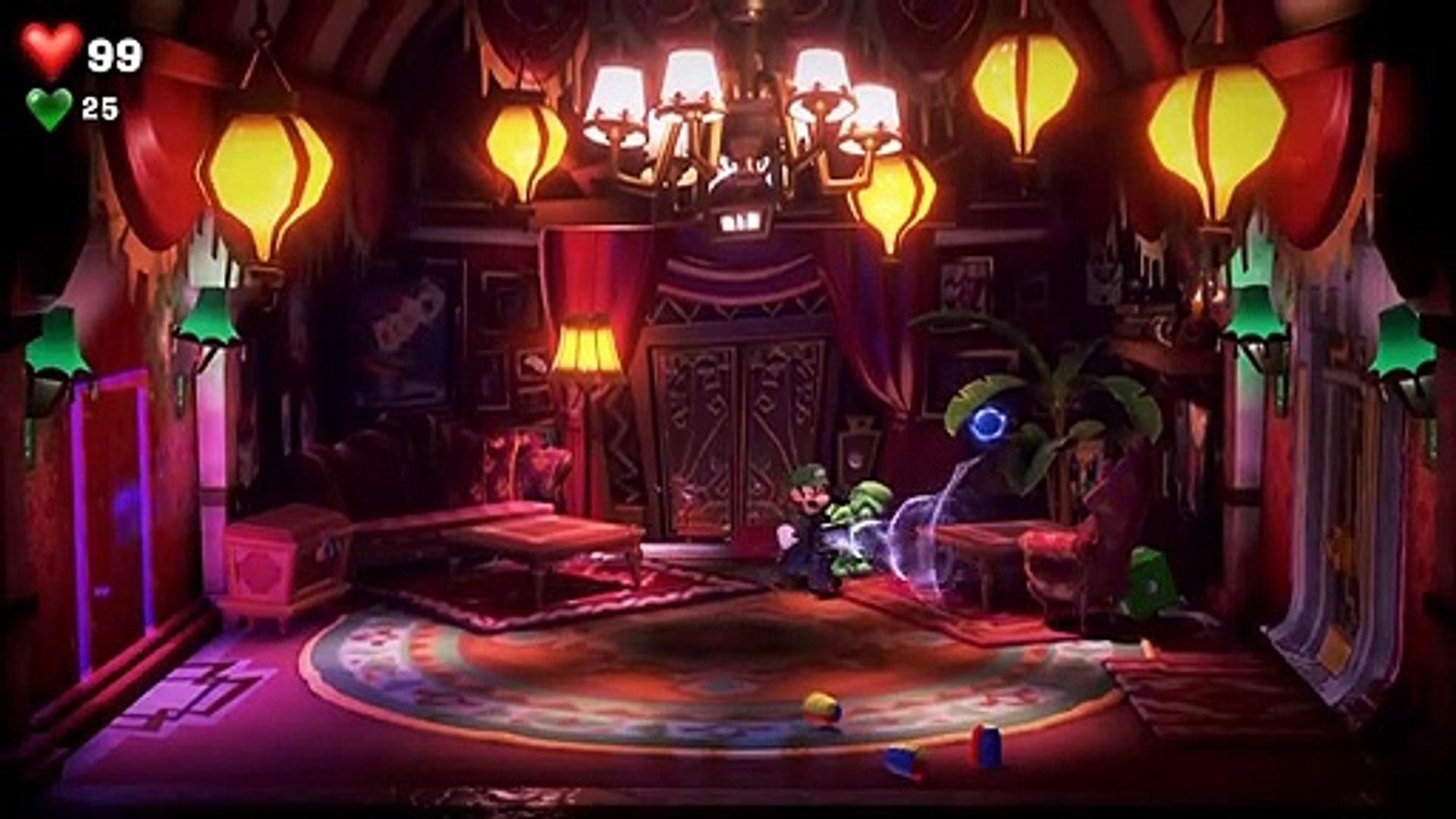 Luigi S Mansion 3 Walkthrough Gameplay Part 13 Twisted Suites Nikki Lindsey Ginny Boss Battle