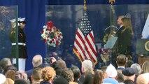 Trump. Gaziler Günü törenine katıldı - NEW YORK