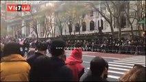 شاهد احتفالات الأمريكيين بيوم المحاربين القدامى