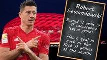 Lewandowski leads race for Golden Boot with blistering start to the season