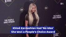 Khloé Kardashian And The People's Choice Award