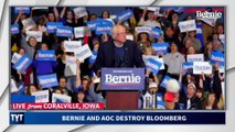 Bernie DRAGS Michael Bloomberg